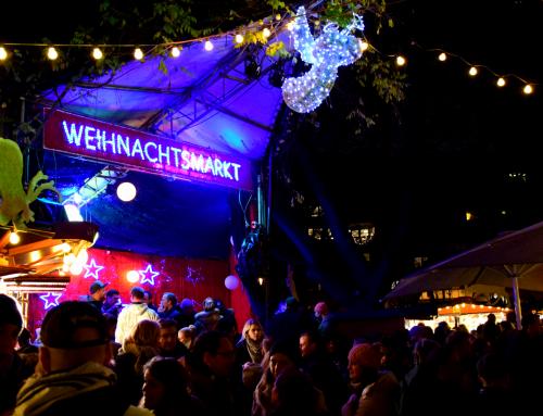 Der Weihnachtsmarkt im Kölner Stadtgarten