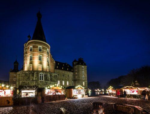 Der 'Romantische Weihnachtsmarkt' am Schloss Merode