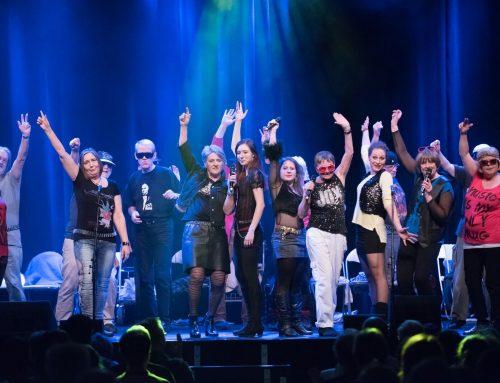 Rheinerlei in der 'Rock 'n Rollator Show'