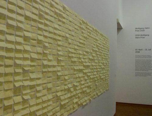 Wolfgang-Hahn-Preis 2019: Jac Leirner im Museum Ludwig
