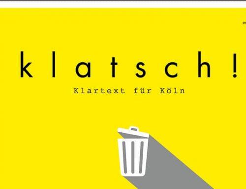 """Rheinerlei liest """"Köln, die Stadt und der Dreck"""""""