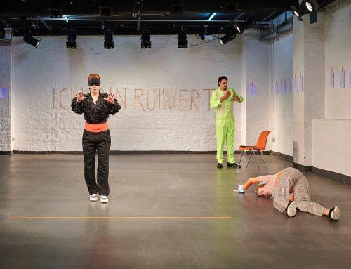 """Rheinerlei in """"Geld, wir müssen reden"""" – Freies Werkstatt Theater"""