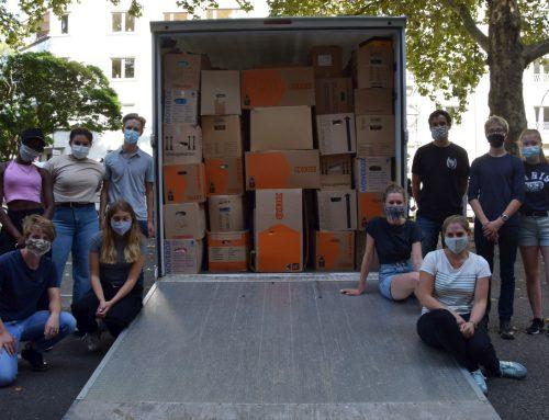 Hölderlin-Gymnasium beteiligt sich an Spendenaktion für Moria