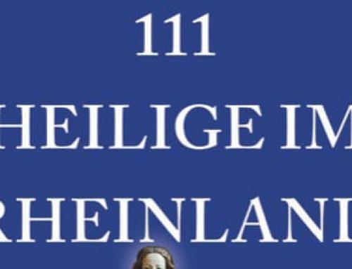 """Rheinerlei liest """"111 Heilige im Rheinland, die man kennen muss"""""""