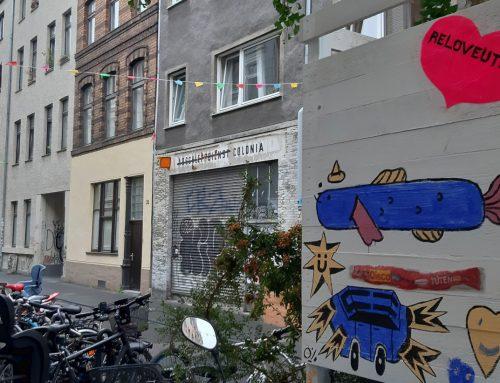 Eine Straße als Kunstraum – Die Körnerfeld Galerie in der Körnerstraße