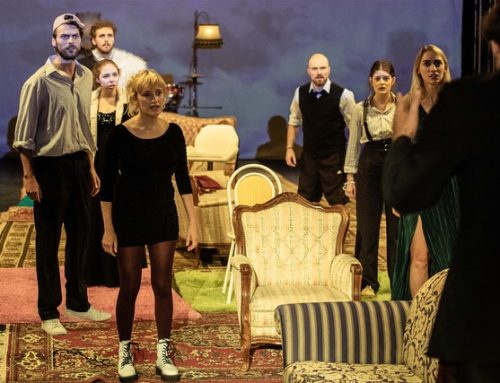 "Rheinerlei in ""Living in a Ghost Town"" – Theater der Keller"