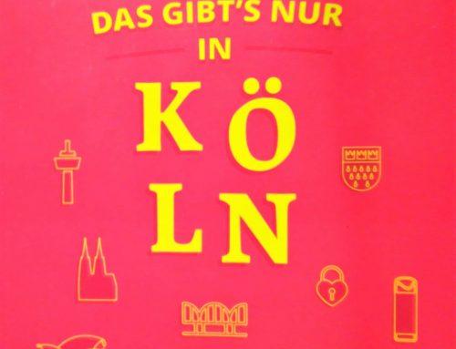 """Rheinerlei liest """"Das gibt's nur in Köln"""""""