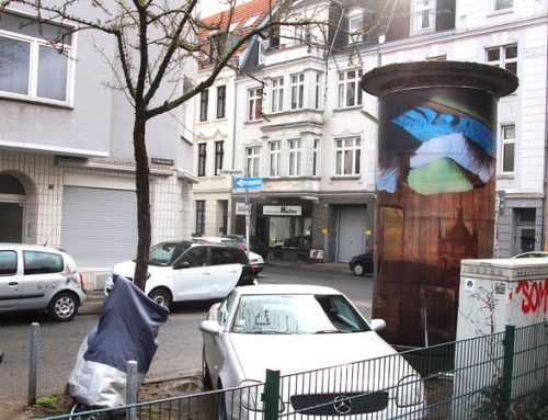 """Kunst im öffentlichen Raum – Bärbel Möllmanns """"Camera Obscura Wien"""" ziert das Stadtbild"""
