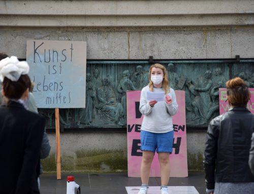 Lebenszeichen aus der Kölner Kultur – Demo auf dem Heumarkt