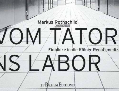 """Rheinerlei liest """"Vom Tatort ins Labor"""" – Einblicke in die Kölner Rechtsmedizin"""""""