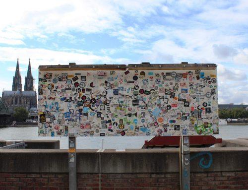 """""""Sticker-Art"""" – Klebrige Klein-Kunst in Köln"""