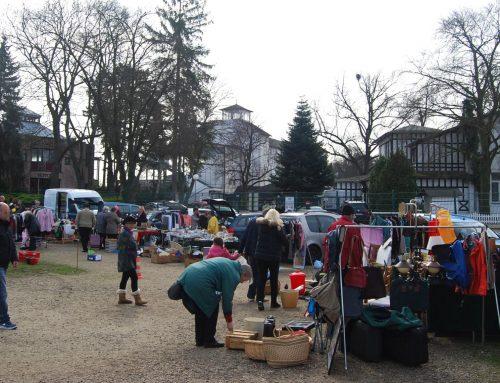 Flohmarkt an der Galopprennbahn