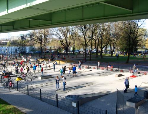 Minigolf im Jugendpark